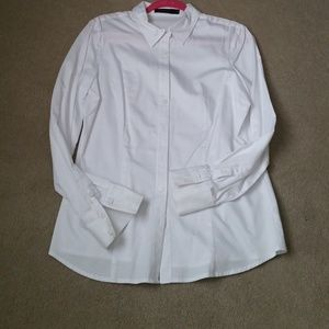 The Limited Essential White Shirt  Size L